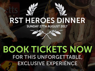 RST Heroes Dinner - Sunday 27th August