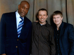 with Frank Bruno and Ricky Hatton