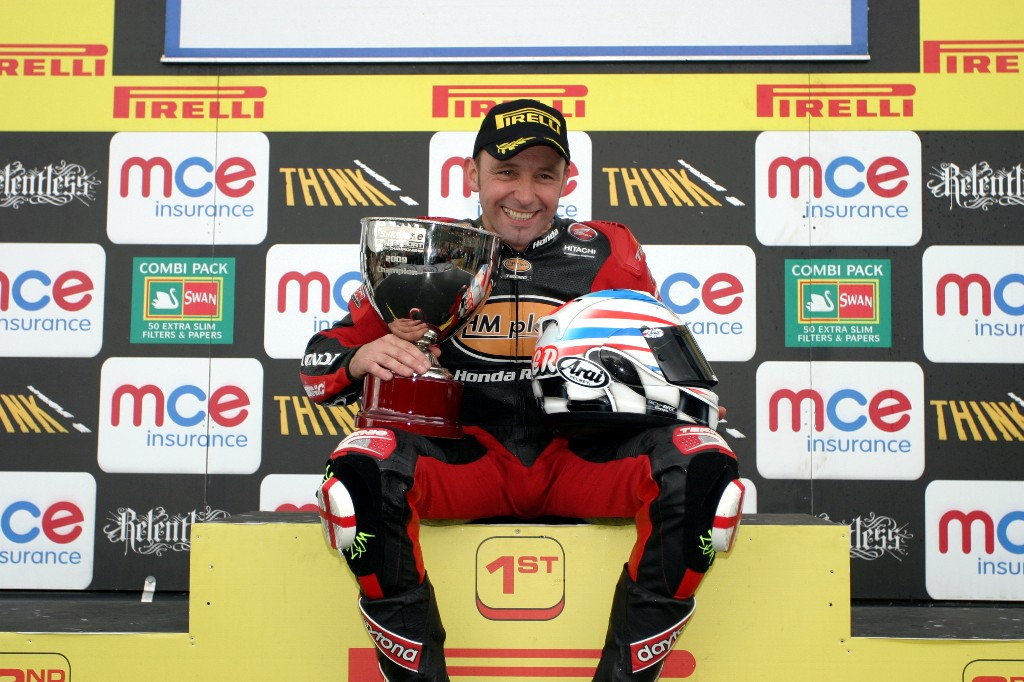2009 British Supersport Champion!