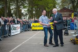 Steve with John Surtees