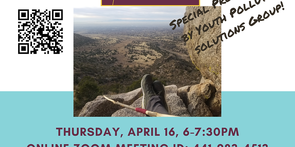 Preserving and Improving our Foothills- ONLINE Earth Day event!