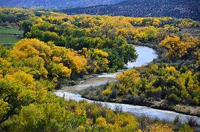 Indian Summer near Santa Fe, New Mexico.