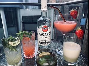 4 Classic White Rum Cocktails