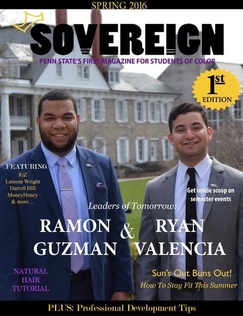 Sovereign Magazine 1st Cover