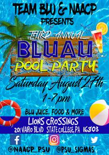 BLUAU Pool Party