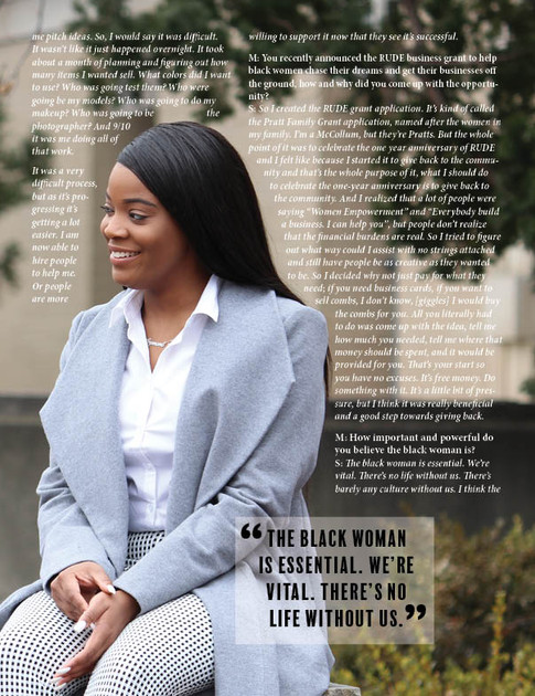 Soveregin Magazine Cover Story