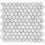 Thumbnail: Aruba Carrara C Gioia Venato Honed Hexagon 280x295x10mm
