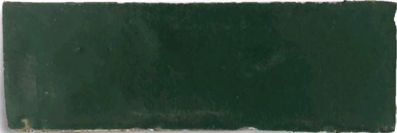 Emerald Bejmat Morocco Handmade Glazed 145x45x20mm