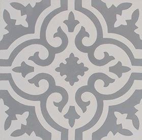 Florani Encaustic Cement Grey & White 200x200x14mm