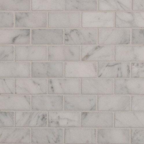 Aruba Carrara C Honed Brickbond 298x298x10mm