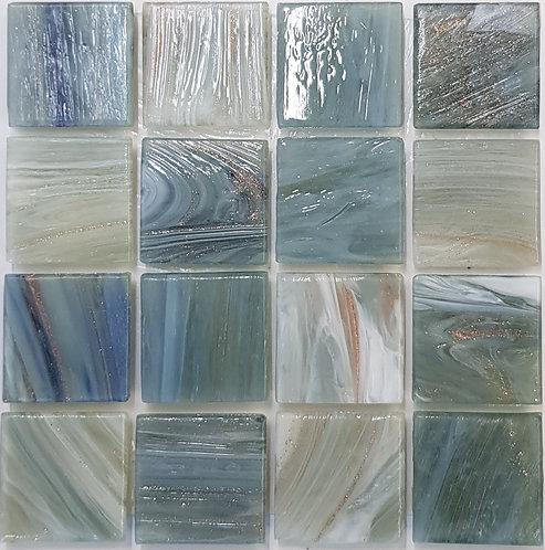 Pacific Two Gloria Glass Pool Mosaic 322x322x4mm (20x20mm chip) Hotmelt