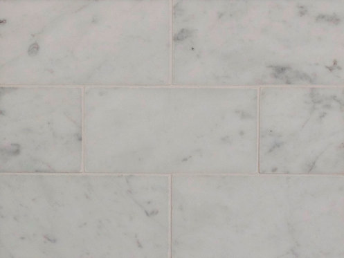 Carrara Gioia Venato Honed Subway 75x150x10mm