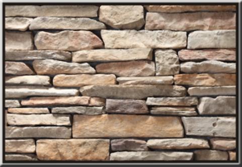Mountain Ledgestone Cabernet Flat Stone Cladding