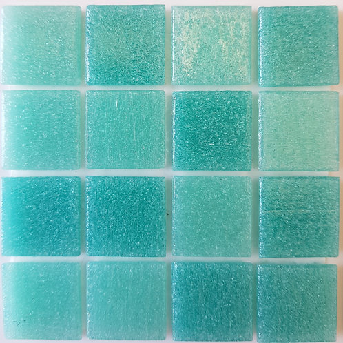 Pacific One Bahamas Glass Pool Mosaic 322x322x4mm (20x20mm chip) Hotmelt