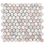 Thumbnail: Fiori Rosa Honed Hexagon Mosaic 293x285x10mm
