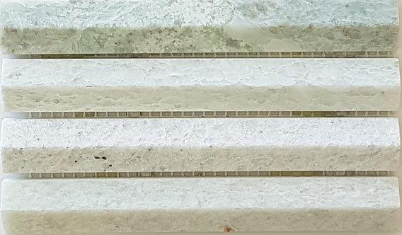 Firenze Mint 3D Honed Mosaic 292x306x8mm (Chip 19x145mm)