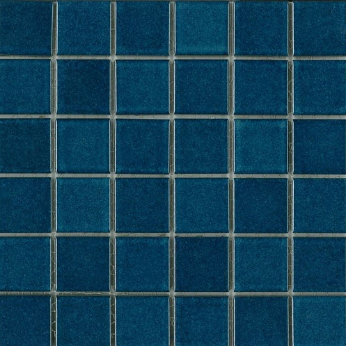 St Martin Azure Mosaic 297x297x4mm (47x47mm chip)