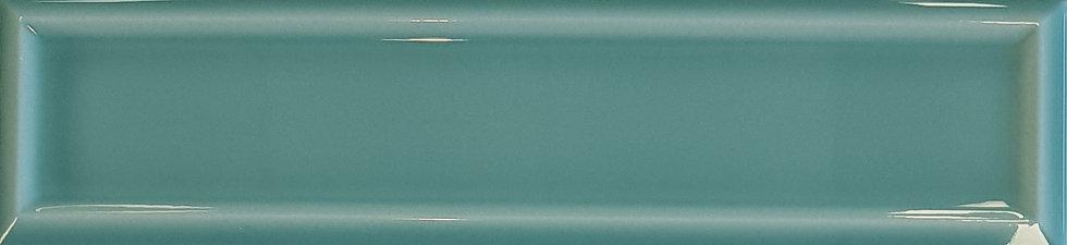 Miami Light Green Frame Ceramic Gloss Pressed Edge Subway 68x280x7mm