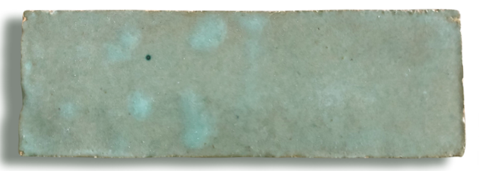 Sage Bejmat Morocco Handmade Glazed 145x45x20mm