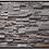 Thumbnail: Vintage Ledgestone Pewter Grey Flat Stone Cladding