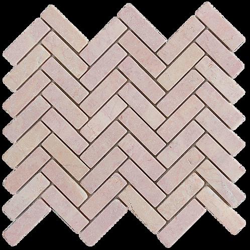 Ruby Tumbled Herringbone 280x248x10mm