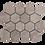 Thumbnail: Silver Cloud 70x70 chip Honed Hexagon 289x250x10mm