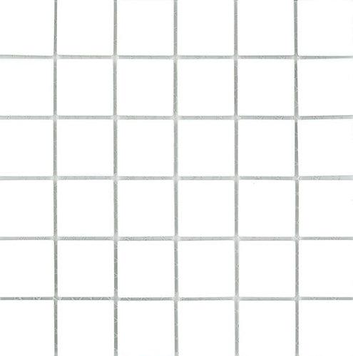 St Martin White Mosaic 297x297x4mm (47x47mm chip)