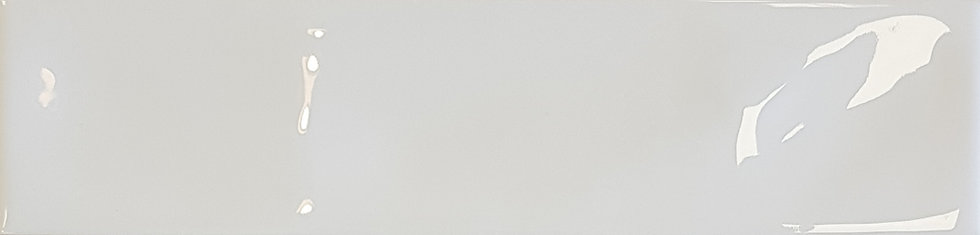 Miami White Wave Ceramic Gloss Pressed Edge Subway 68x280x7mm