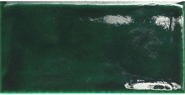 Crackle Finish Emerald Green Italian Subway 75x150x6mm