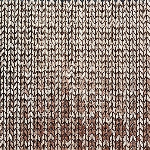 Bronze Vertex Chevy 3D Mosaic 303x398x6mm