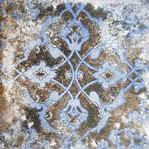 Azura Blue 5 Matt Porcelain 200x200x10mm