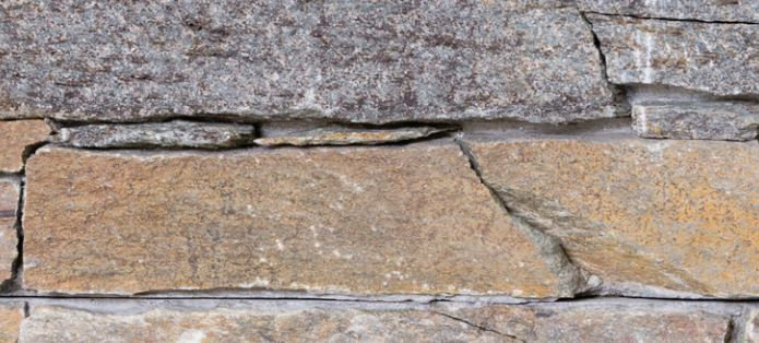 Ledgestone Rustic Mica Stone Panel 152x610mm