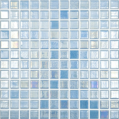 Vision Pearl Blue Glass Mosaic 315x315mm
