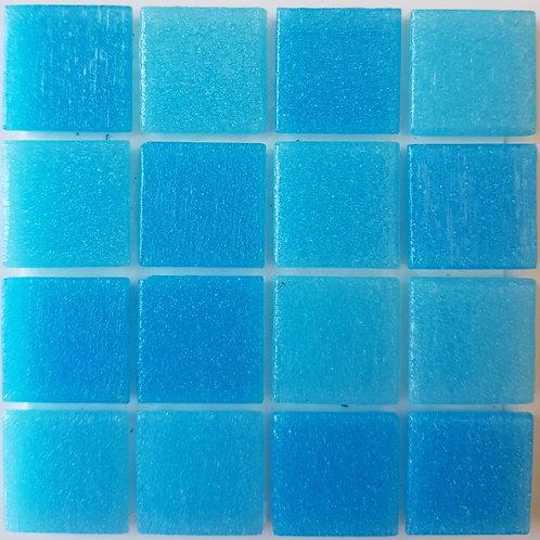 Pacific One Menorca Glass Pool Mosaic 322x322x4mm (20x20mm chip) Hotmelt