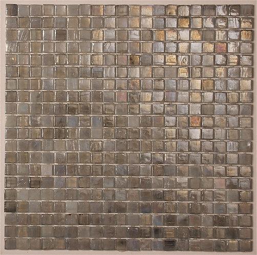 Lumina Light Grey Glass Mosaic 327x327x5mm