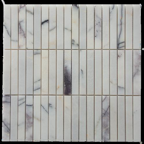Argento New York Stack Bond Mosaic 300x300x10mm