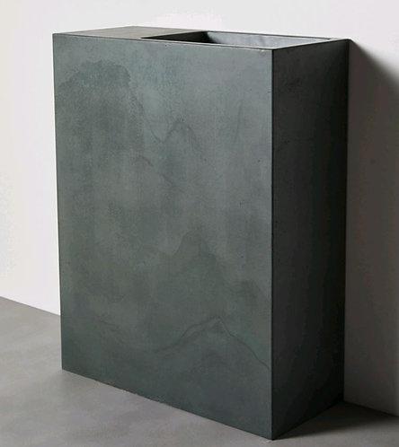 Delphi Concrete Basin Green Stone 700(L) x 300(W) x 900mm(H)