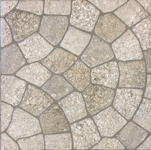 Cobblepave Beige External Pressed Edge R11 400x400x10mm