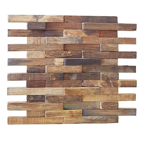 Caribbean 01 Organic Natural Timber Panels 300x300mm