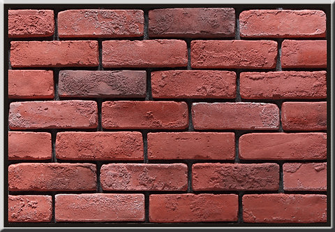Old Used Bricks Persian Red Stone Cladding