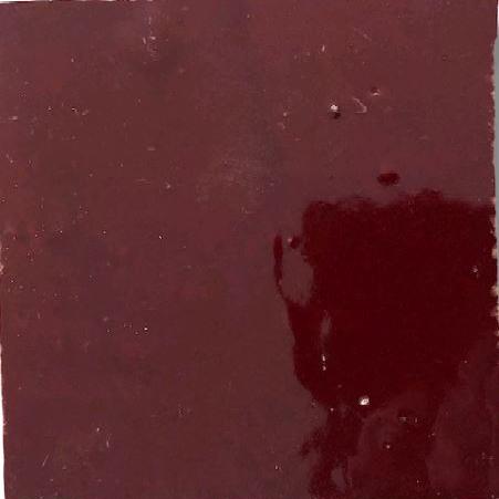 Wine Zellige Morocco Handmade Glazed 100x100x13mm
