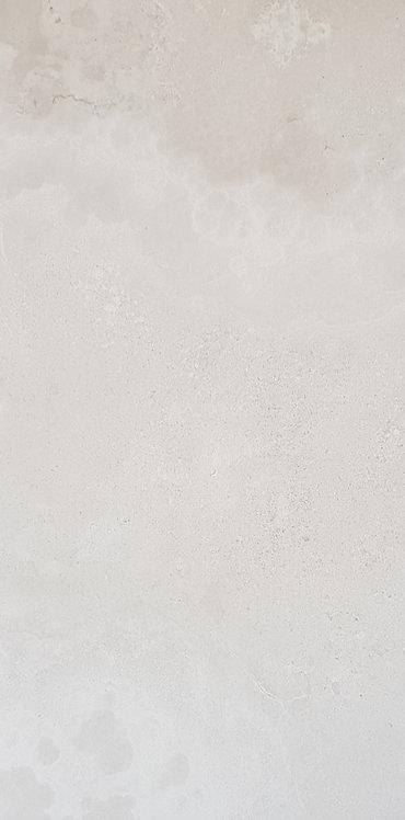 Benetti Blanc Natural Italian Porcelain Pressed Edge Tile 300x600x10mm