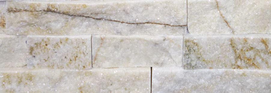 Truestack White Crystal Quartz Stone 150x600mm