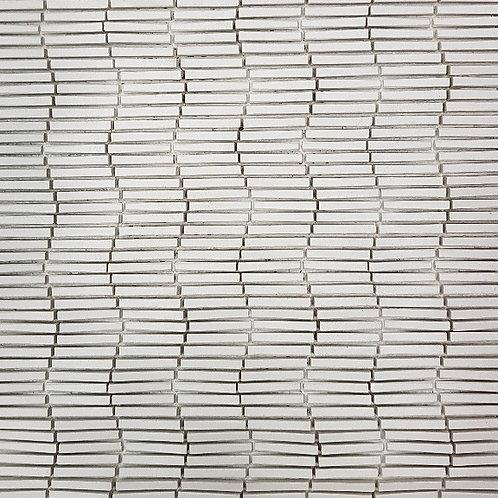 Light Grey Vertex Ripple 3D Mosaic 303x398x6mm