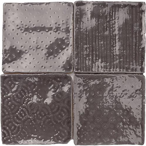 Stanford Graphite Decor Gloss 100x100x10mm