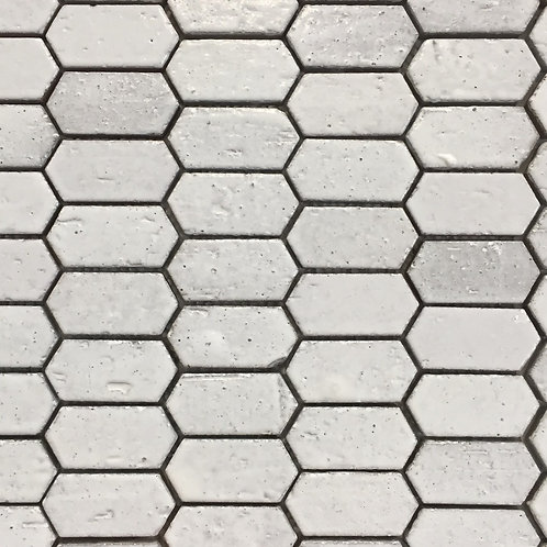 Honeycomb Stack Antique White Terracotta Mosaic 275x285x10mm