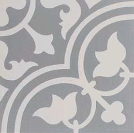 Watsons Bay Tulip Flower Grey & White 200x200x14mm
