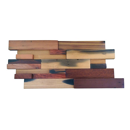 Caribbean 601 Vitric Natural Timber Panels Polished 300x300