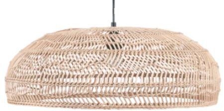 Martha's Vineyard Rattan Pendant Light Shade 60cmx20cm