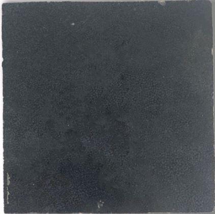 Dark Grey Zellige Morocco Handmade Glazed 100x100x13mm